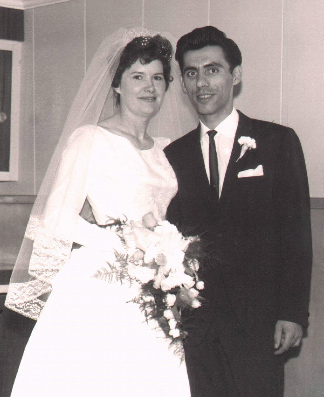 Joyce and I 1963 Toronto